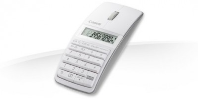 Calculadora Canon, X Mark I Mouse Slim Blanco y Negro